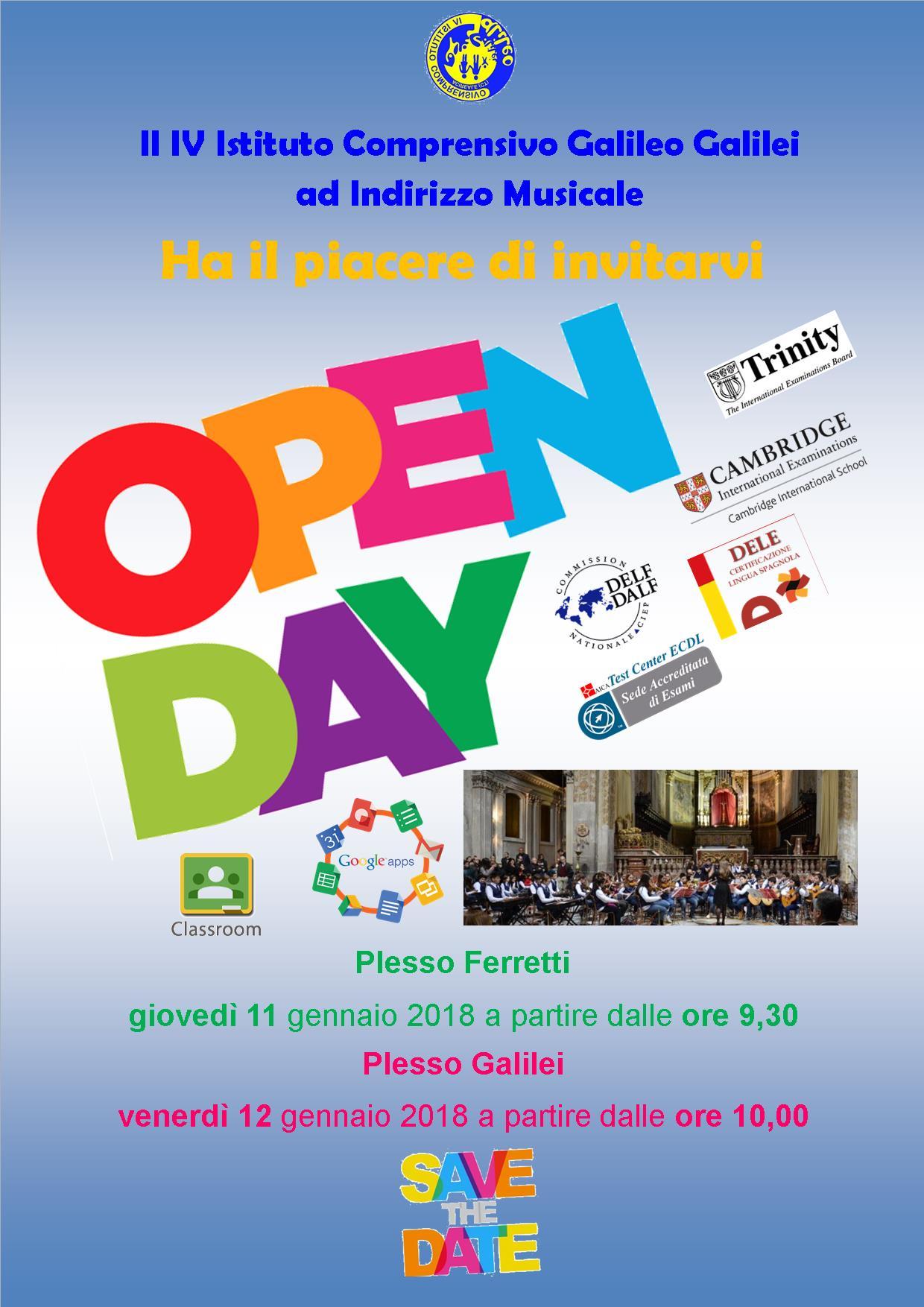 icona open day